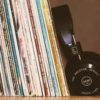 Vinyl Albums and Headphones